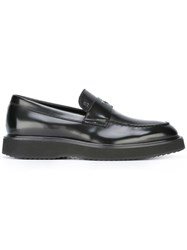 Hogan Classic Loafers Black