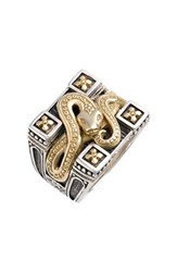 Men's Konstantino 'Minos' Carved Serpent Ring