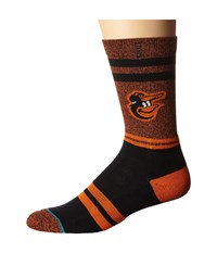 Stance The O's Orange Men's Crew Cut Socks Shoes