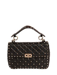 Valentino Medium Spike Quilted Leather Bag