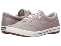 Keds Craze Ii Canvas Light Gray Women's Lace Up Casual Shoes