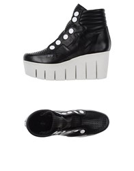 Bb Washed By Bruno Bordese Footwear High Tops And Trainers Women Black