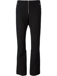 Marc Jacobs Cropped Flared Trousers Black