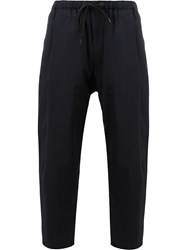 08Sircus Cropped Trousers Blue
