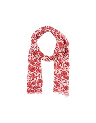 Stefanel Oblong Scarves Red