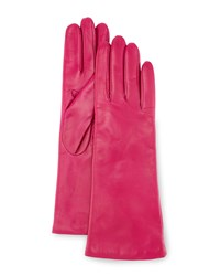 Portolano Napa Leather Gloves Clover Pink