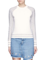 Rag And Bone 'Jana' Raglan Sleeve Wool Sweater White