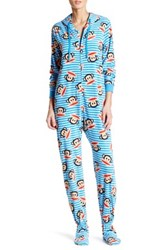 Paul Frank Printed Fleece Jumpsuit Blue