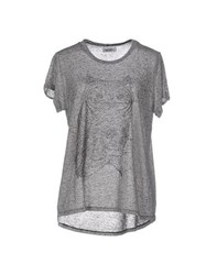 Lauren Moshi Topwear T Shirts Women Grey