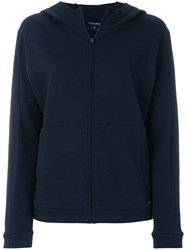 Woolrich Hooded Sweatshirt Cotton Blue