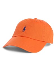 Polo Ralph Lauren Neon Orange Classic Cap