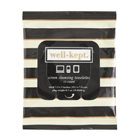 J.Crew Well Kept Screen Cleansing Towelettes Black