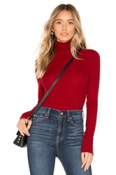 Ag Adriano Goldschmied Chels Turtleneck Red