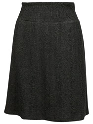 Fat Face Jacquard Cable Jersey Skirt Phantom