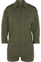 Nlst Officer's Cotton Twill Playsuit