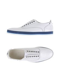 Fabi Footwear Low Tops And Trainers Men White