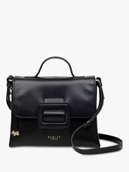 Radley Morris Road Leather Small Cross Body Bag Black