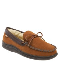 L.B. Evans Men's 'Atlin' Moccasin Saddle Pile
