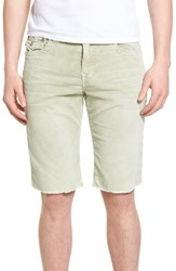 True Religion Men's Big And Tall Brand Jeans Ricky Flap Corduroy Shorts Desert Sage