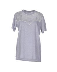 Alexis Mabille T Shirts Light Grey