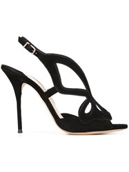 Sophia Webster 'Madame Butterfly' Sandals Black