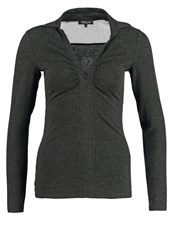 Morgan Toruni Long Sleeved Top Gris Anthracite