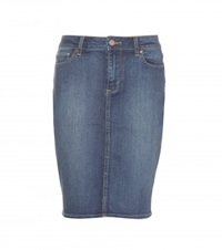 Paige Deirdre Denim Skirt Blue