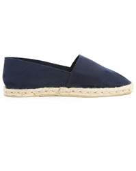 M.Studio Jorge Navy Block Colour Espadrilles
