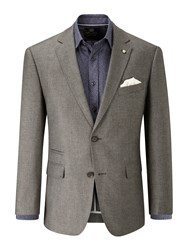 Skopes Men's Burrell Linen Blend Jacket Grey