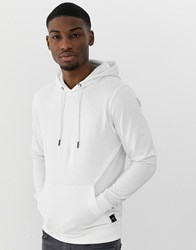 Only And Sons Basic Hoodie White