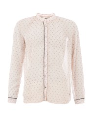 Garcia Sheer Printed Shirt Pink