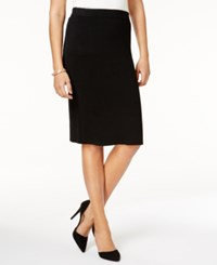 Charter Club Milano Pencil Skirt Only At Macy's Deep Black