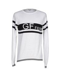 Gianfranco Ferre Gf Ferre' Knitwear Jumpers Men White