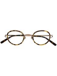 Matsuda '2835H' Glasses Yellow And Orange