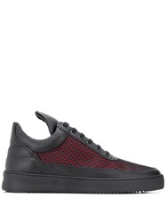 Filling Pieces Ripple Reflect Sneakers Black