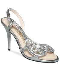 E Live From The Red Carpet E0014 Evening Sandals Women's Shoes Mercury Metallic
