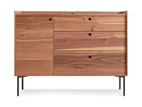 Blu Dot Peek 1 Door 3 Drawer Credenza