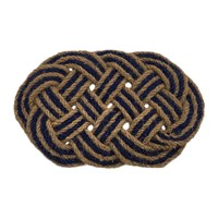 Artsy Doormats Lover's Knot Door Mat Blue