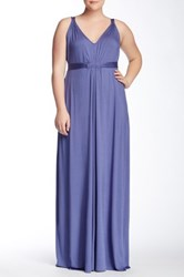 White Label By Rachel Pally Quintana Maxi Dress Plus Size Purple