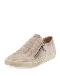 John Varvatos 315 Reed Ghosted Low Top Sneaker White