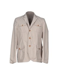 Seventy By Sergio Tegon Suits And Jackets Blazers Men Light Grey