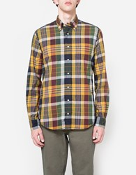 Gitman Brothers Vintage Archive Madras Ls Button Down Multi