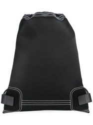 Paco Rabanne Drawstring Backpack Black