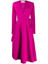 Esteban Cortazar Asymmetric Draped Column Dress 60