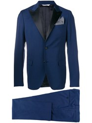 Manuel Ritz Two Piece Tuxedo Blue