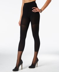 Star Power By Spanx Faux Legging Tights Very Black