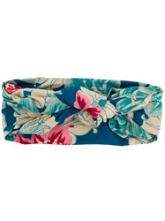 Etro Floral Two Way Scarf Neutrals