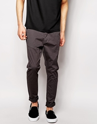 Dr. Denim Dr Denim Chinos Heywood Slim Tapered Fit Dark Grey