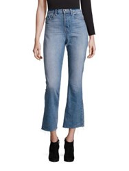 Helmut Lang High Rise Cropped Jeans Light Blue