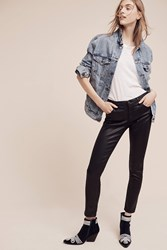 Anthropologie Ag Legging Low Rise Ankle Jeans Black